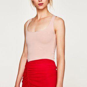 Zara | Wide Strap Stretch Top